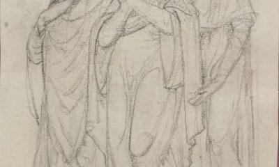 AionSur coullaut-grabado-400x240 Marchena recupera un dibujo original hecho por Coullaut Valera para una de sus esculturas Cultura Marchena