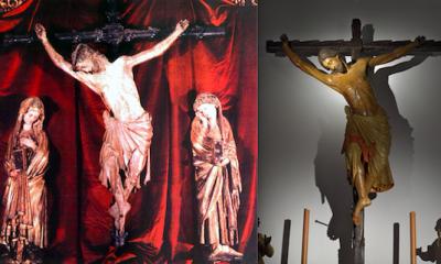 """AionSur cristos-400x240 La curiosa historia del Cristo del Millón de Sevilla y su """"hermano"""" de Sanlúcar la Mayor Cultura Sevilla"""