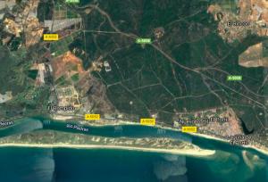 AionSur flecha-satelite-300x204 ¿Sabías que una playa de la provincia de Huelva crece 40 metros cada año? Huelva Sociedad