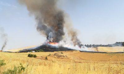 AionSur incendio-ronda-400x240 Un incendio afecta al paraje Villalones de Ronda Incendios Forestales Málaga Sucesos