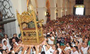AionSur lepe-Bella-300x181 El histórico traslado de La Bella de cada 7 de agosto se hace sin público Huelva Sociedad