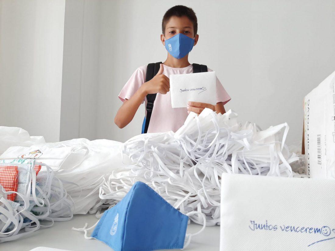 AionSur mascarillas-Carmona El Ayuntamiento de Carmona dará una mascarilla a cada alumno para la vuelta al cole Coronavirus