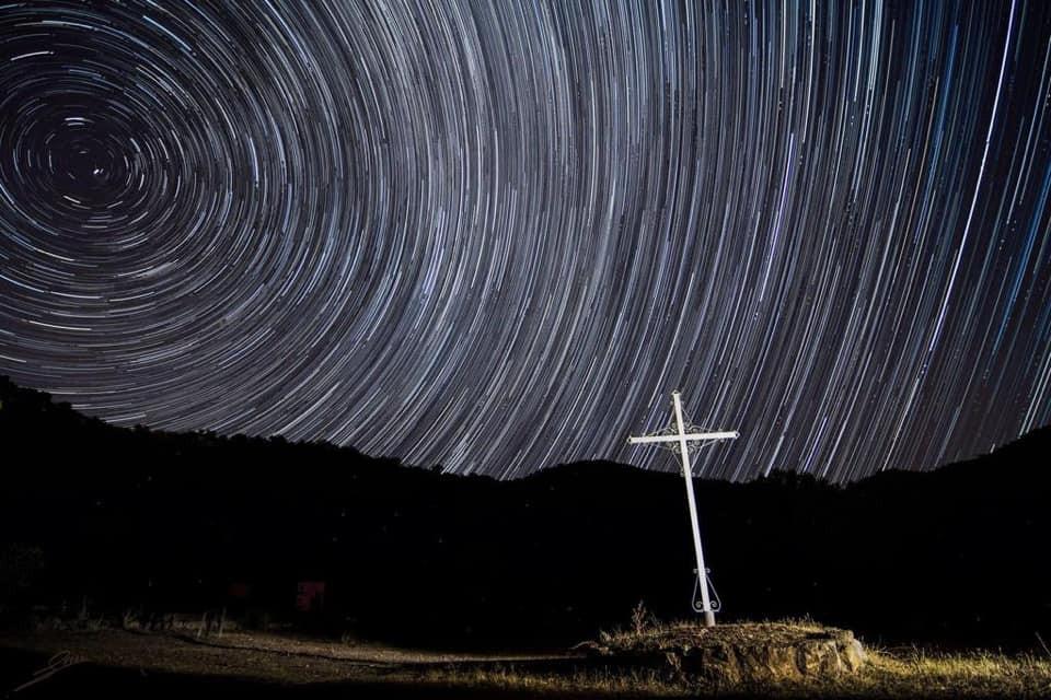 AionSur perseidas La impresionante imagen de las perseidas sobre el cielo de Coripe Coripe Sociedad