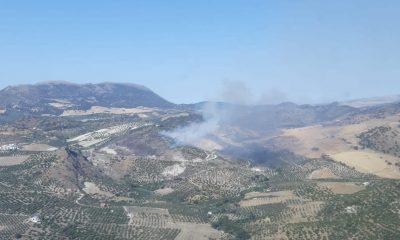 AionSur pruna-400x240 Arde un paraje de gran valor natural en Pruna Incendios Forestales Pruna Sucesos destacado