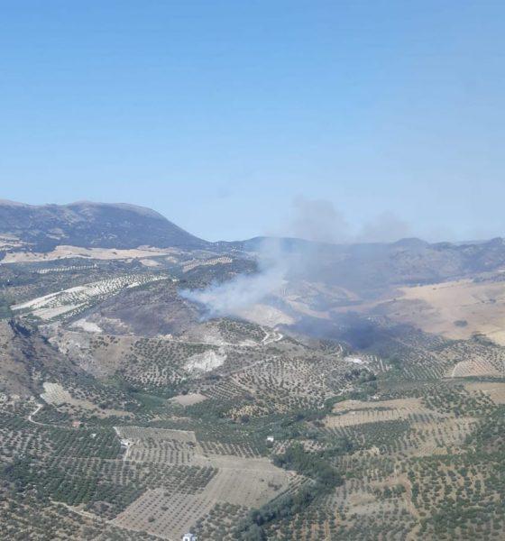 AionSur pruna-560x600 Arde un paraje de gran valor natural en Pruna Incendios Forestales Pruna Sucesos destacado