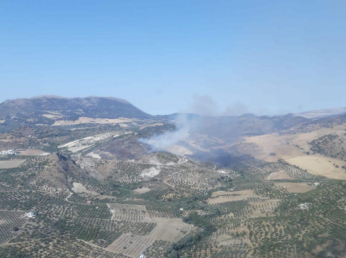 AionSur pruna Arde un paraje de gran valor natural en Pruna Incendios Forestales Pruna Sucesos destacado