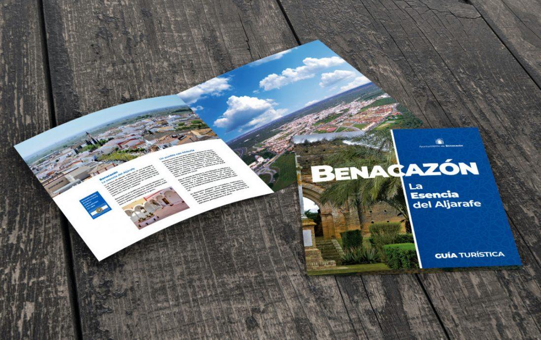 AionSur Benacazon-guia Una guía destapa los encantos de Benacazón para que el turismo los siga disfrutando Economía
