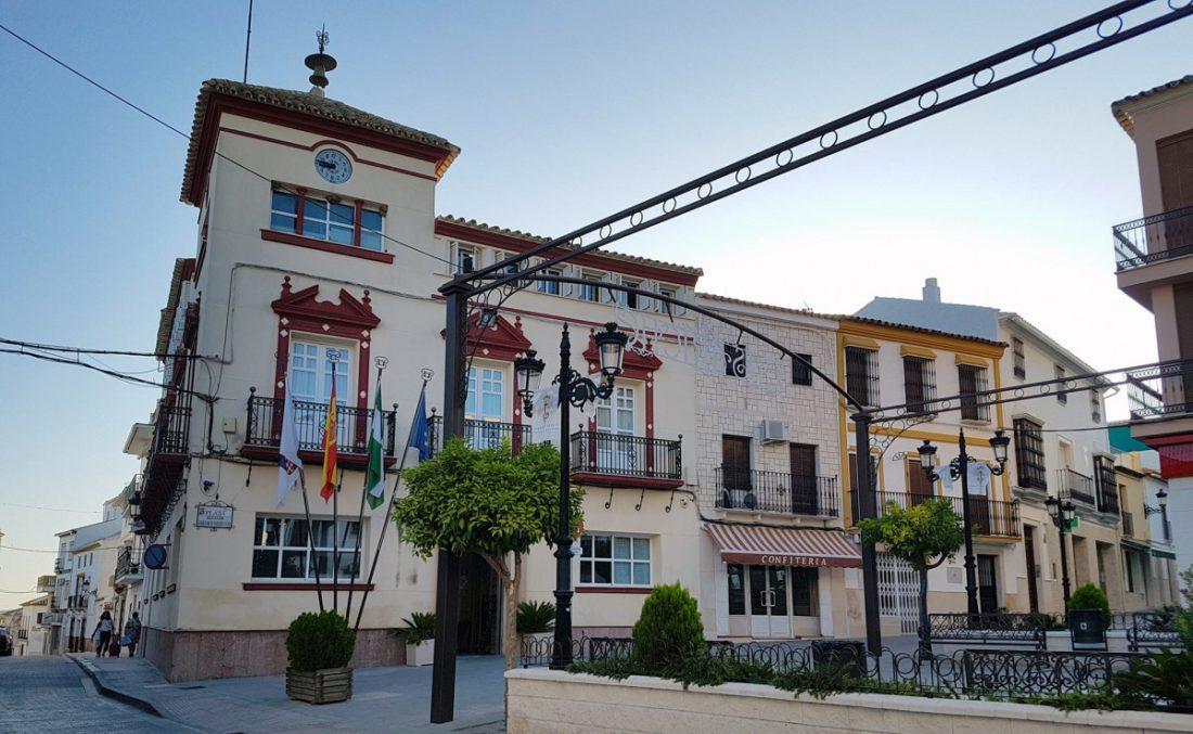 AionSur Casariche-Ayuntamiento Cierra el Ayuntamiento de Casariche tras el positivo del alcalde, tres concejales y dos funcionarios Coronavirus