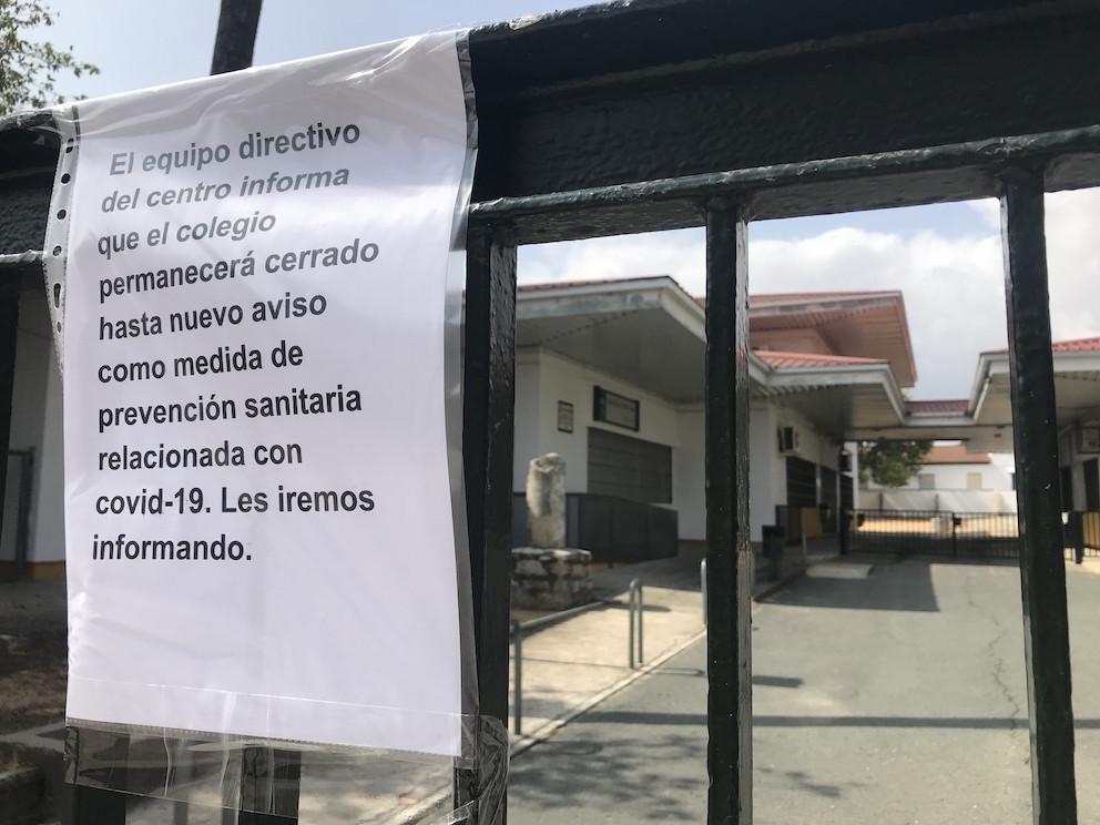 AionSur Cole-Gerena-2 Salud autoriza al colegio Fernando Feliú de Gerena a que abra algunas de sus clases Coronavirus destacado