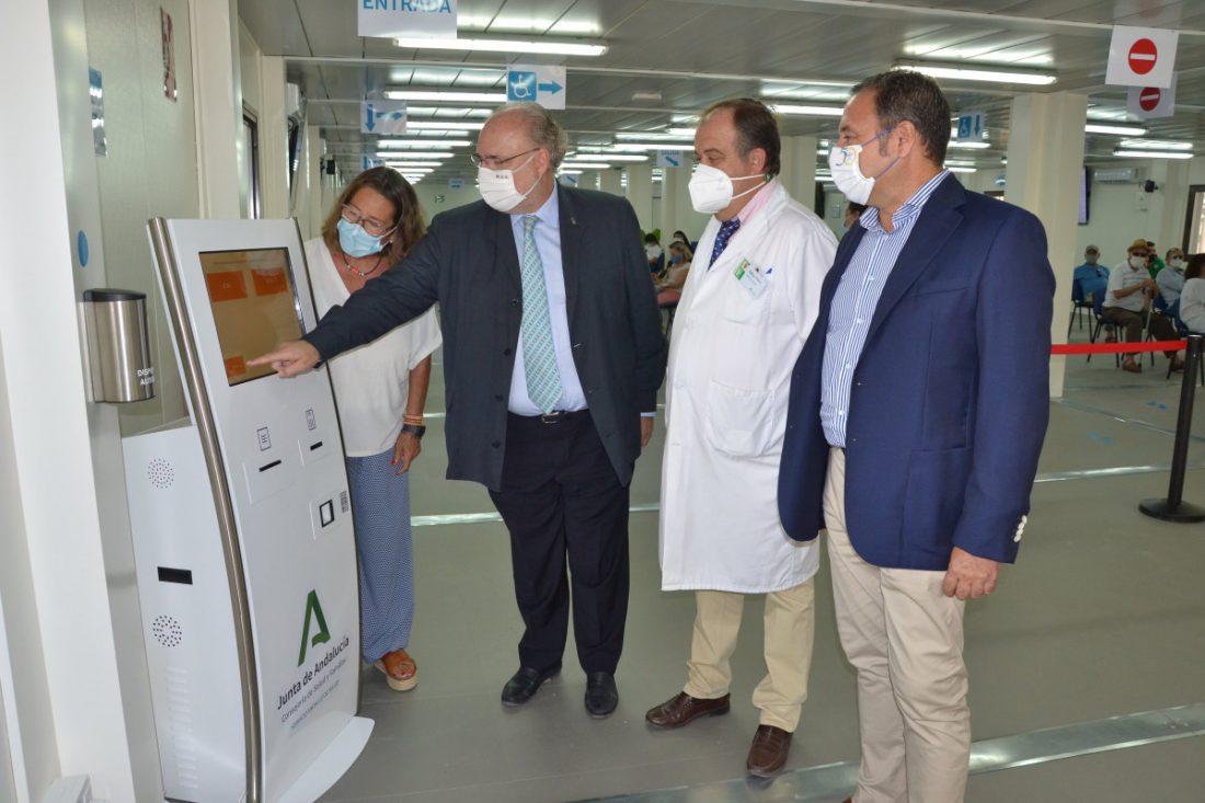 AionSur DSC_1307-min Ocho millones en infraestructuras para reforzar la seguridad de los pacientes del Macarena frente al COVID-19 Hospitales
