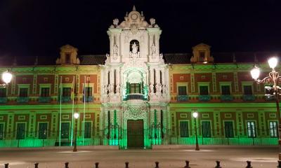 AionSur San-Telmo-verde-400x240 El verde inunda monumentos andaluces en la lucha contra las enfermedades mitocondriales Salud