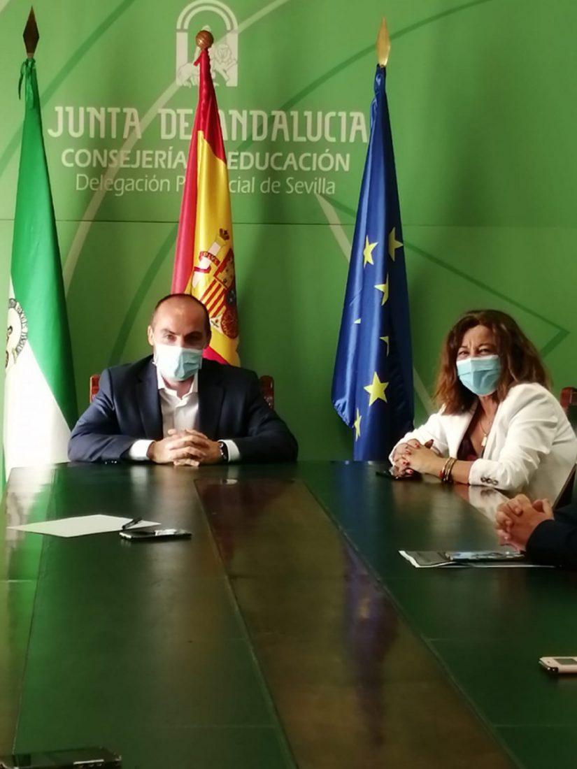 AionSur WhatsApp-Image-2020-09-25-at-14.05.04-min-1 Miguel Martín León toma posesión como delegado Territorial de Educación de Sevilla Educación