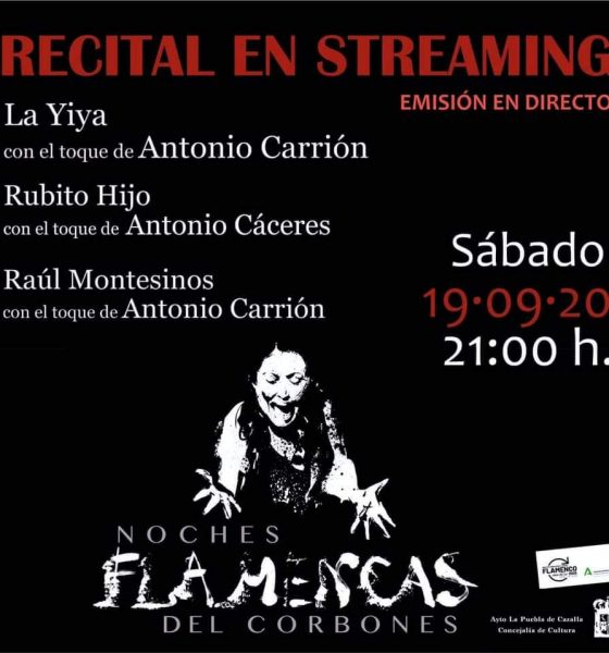 """AionSur a733f535-b3be-4ccf-97ee-4b052454a2c8-min-560x600 Flamenco en directo en La Puebla, vía streaming en las """"Noches flamencas del Corbones"""" La Puebla de Cazalla destacado"""