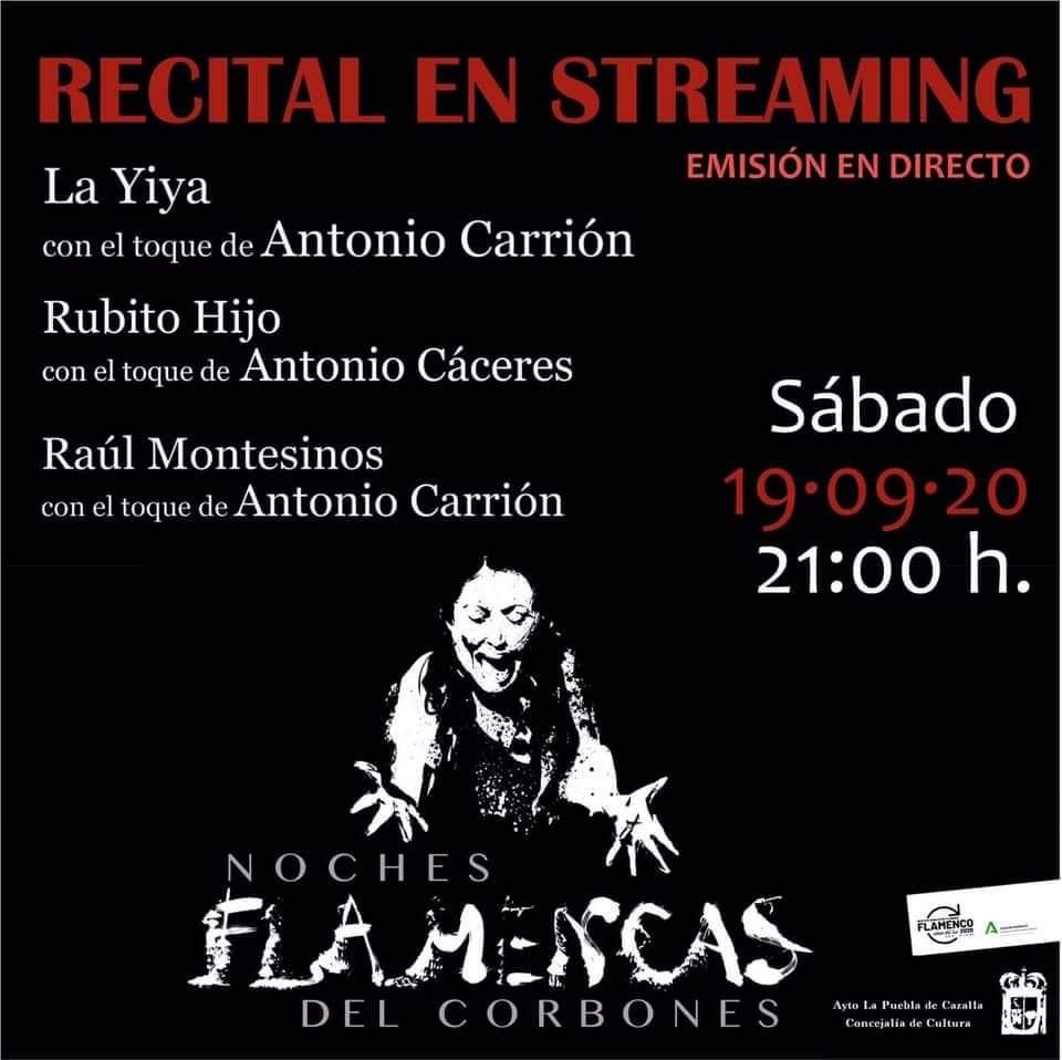 """AionSur a733f535-b3be-4ccf-97ee-4b052454a2c8-min Flamenco en directo en La Puebla, vía streaming en las """"Noches flamencas del Corbones"""" La Puebla de Cazalla destacado"""