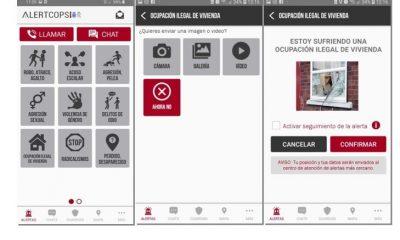 AionSur alecops-min-400x240 AlertCops incluye nueva alerta para comunicar de forma inmediata casos de ocupación ilegal de viviendas Sociedad