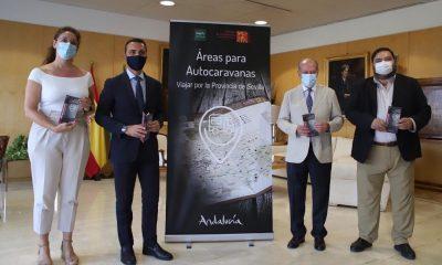 AionSur: Noticias de Sevilla, sus Comarcas y Andalucía caravanas-prodetur-400x240 Una guía recorre las áreas para autocaravanas repartidas por la provincia de Sevilla Prodetur