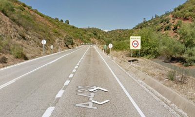 AionSur carretera-pedroso-400x240 Un fallecido y dos heridos en un accidente en El Pedroso Sucesos destacado