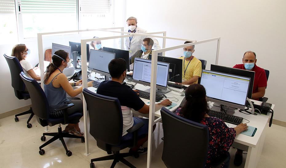 AionSur covid-telefono La Junta activa dos salas de control para mejorar el rastreo de contagios de COVID Coronavirus
