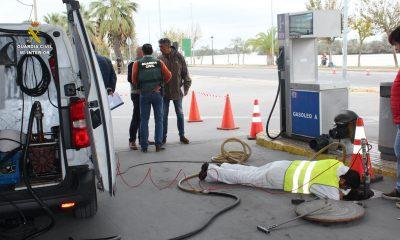 AionSur gasolinera-coria-400x240 Tres detenidos en Coria del Río por los olores que afectan hace dos años al pueblo Sucesos
