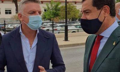 AionSur herrera-Juanma-alcalde-400x240 El alcalde de Herrera traslada al presidente de la Junta sus peticiones en Salud para el pueblo Salud