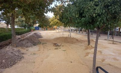 AionSur herrera-obras-400x240 En marcha las obras para cambiar toda la Plaza Alcalde Manuel Vázquez de Herrera Herrera