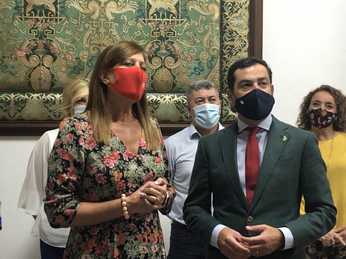 AionSur osuna-visita-presidente-min El Plan Andalucía en Marcha empieza en la ampliación del Hospital de Osuna Osuna