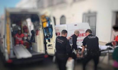 AionSur policia-Osuna-400x240 Rescatan en Osuna a un anciano que llevaba tres días caído en el suelo de su casa Sucesos