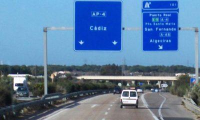 AionSur 1544510877_393080_1544510937_noticia_normal-min-400x240 Investigado por conducción temeraria circulando por la autopista Sevilla-Cádiz Sucesos