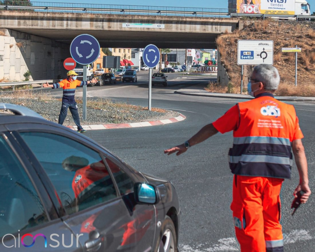 """AionSur 71c1e239-39c0-4ec5-ad12-758d7ce182e4-min Quejas en Arahal por la """"irresponsable y pésima"""" organización del Rally Andalucía Deportes destacado"""