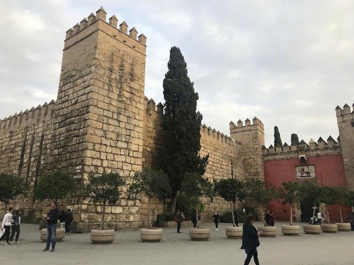 AionSur Alcazar_SevillaIMG_3044 El Real Alcázar se mantiene abierto en el puente tras los test masivos a su plantilla Coronavirus destacado