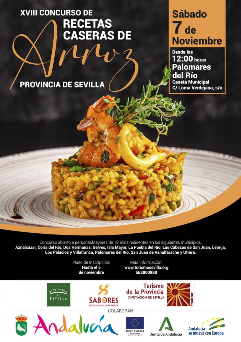 AionSur Carteles2020_3_Final-baja Prodetur busca de nuevo el mejor arroz de la provincia de Sevilla Prodetur
