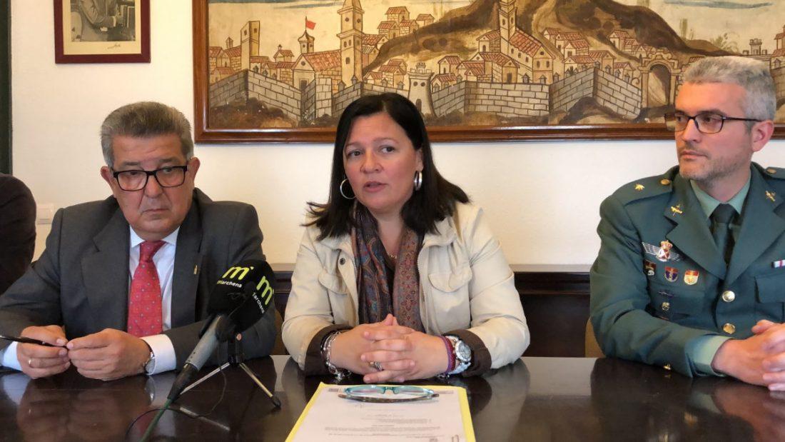 """AionSur IMG_1388-min-1 La alcaldesa de Marchena dice que parte de la Policía y la oposición """"llaman a la delincuencia al pueblo"""" Marchena destacado"""