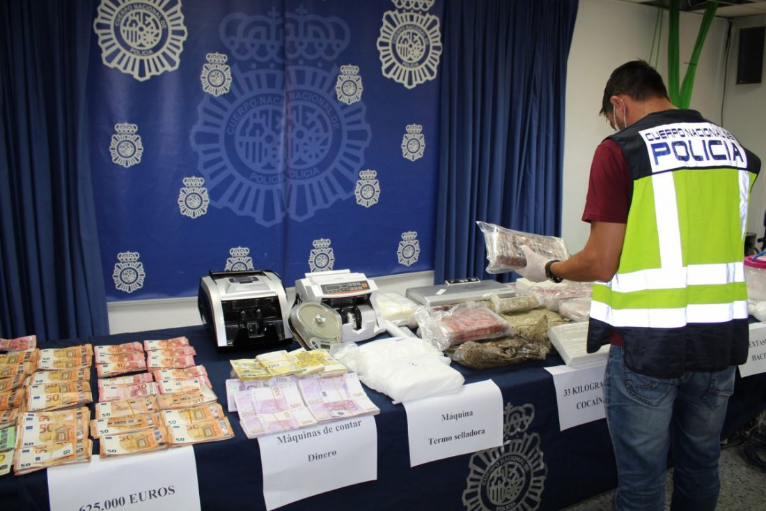 AionSur: Noticias de Sevilla, sus Comarcas y Andalucía IMG_9579-min Desarticulada importante organización criminal dedicada al tráfico de cocaína a gran escala en la provincia de Sevilla Sucesos