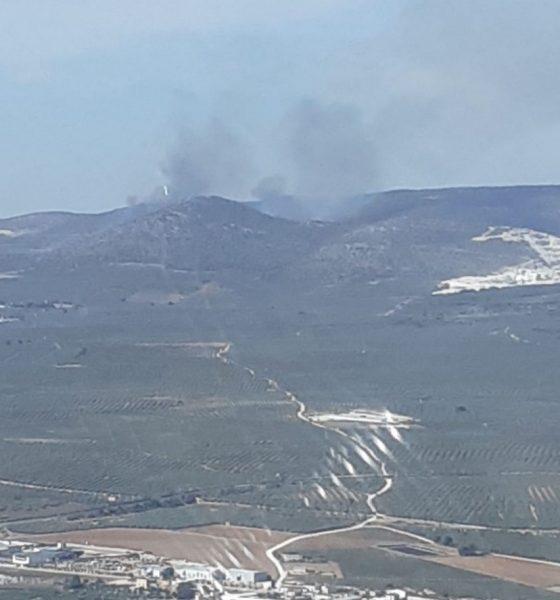 AionSur: Noticias de Sevilla, sus Comarcas y Andalucía Incendio-forestal-560x600 Arde el paraje Sierra de Yeguas, en Pedrera Incendios Forestales destacado