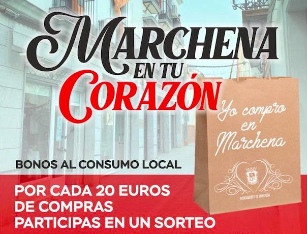 """AionSur Marchena-campana-comercio Marchena anima a sus vecinos a comprar """"con el corazón"""" para ayudar al comercio local Marchena destacado"""
