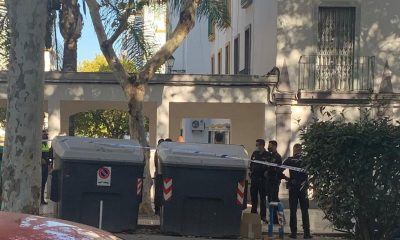 AionSur Policia-Huelva-400x240 Tiran a un contenedor en Huelva una cabeza humana en una bolsa de basura Sucesos destacado
