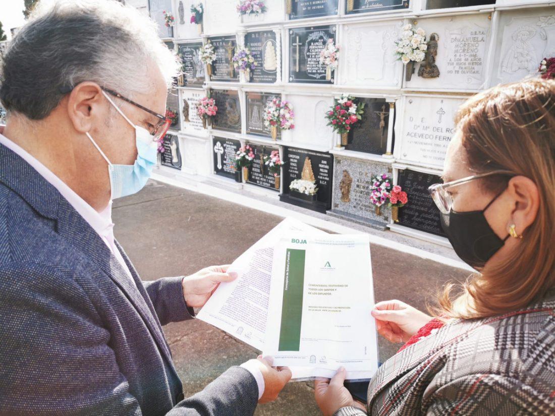AionSur VISITA-CEMENTERIO.-min Bormujos establece medidas de protección para las visitas al cementerio Bormujos