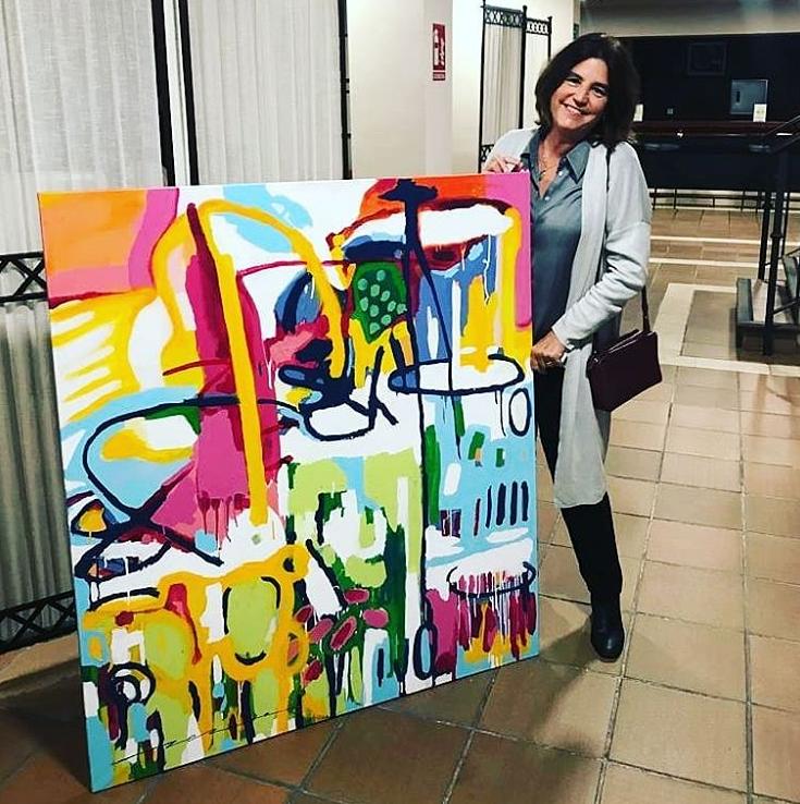 AionSur caritas Cáritas sortea obras de arte a cambio de ayuda para su labor social Sociedad