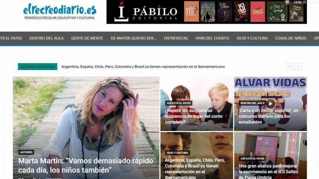 AionSur diario-recreo Nace El Recreo Diario, digital especializado en información escolar, educativa y cultural Educación