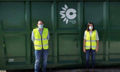 AionSur mancomunidad-2-min-400x240 La Mancomunidad Campiña 2000 recibe trece nuevas cubas para los Puntos Limpios de sus pueblos Medio Ambiente