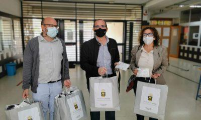 AionSur mascarilas-bormujos-400x240 Bormujos entrega 3.400 mascarillas al alumnado de Secundaria y Bachillerato Coronavirus