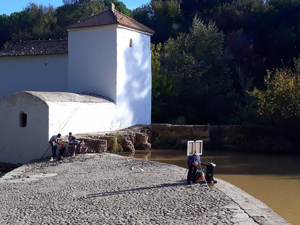 AionSur pintura-aire-libre-archivo-1-min El Concurso de Pintura al Aire Libre de Alcalá se mantiene en 2020 con las exigencias frente al COVID Alcalá de Guadaíra