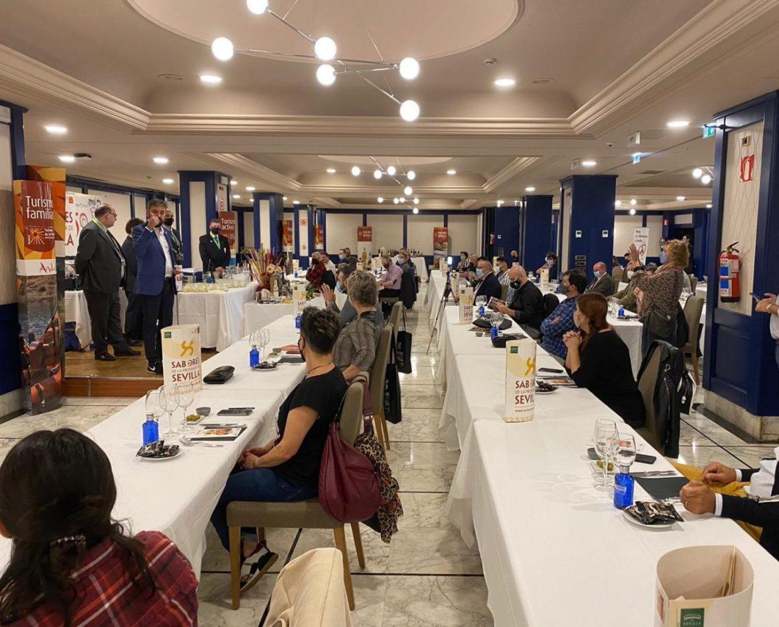 AionSur prodetur-pais-vasco Sevilla muestra en el País Vasco su mejor oferta gastronómica Prodetur