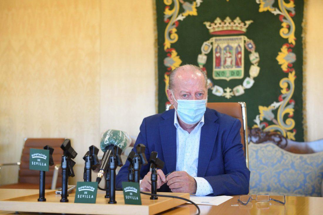 """AionSur rodriguez-villalobos Rodríguez Villalobos lamenta el """"no irracional"""" del PP a los presupuestos de la Diputación de Sevilla Diputación"""