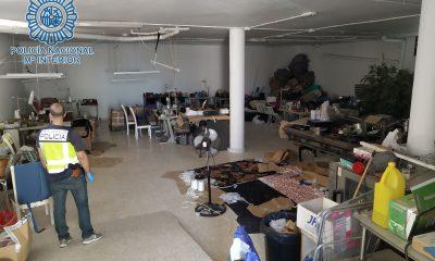AionSur taller-1-min-400x240 Detenidos por explotar laboralmente a sus compatriotas en talleres clandestinos de Dos Hermanas y Sevilla Sucesos
