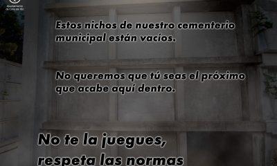 """AionSur 123704525_3392460410789174_3489191514940408413_o-min-400x240 Coria del Río muestra un nicho vacío en una """"dura"""" campaña contra el coronavirus Provincia destacado"""