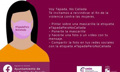 """AionSur 125805965_2733216870228266_3646447133687378835_o-min-400x240 """"Tapada pero no callada"""", campaña para el 25-N en La Puebla de Cazalla La Puebla de Cazalla"""