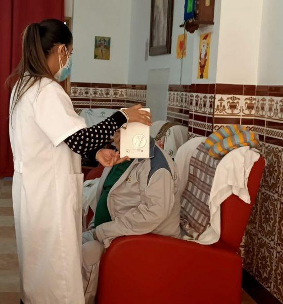 AionSur 125868817_1640647676096260_7260505287819334773_n-min-560x600 Videollamadas que alargan la vida en La Roda de Andalucía La Roda de Andalucía destacado