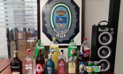 AionSur Botellon-Lepe-400x240 Disuelto un botellón con más de 40 jóvenes en la playa de La Antilla Coronavirus destacado