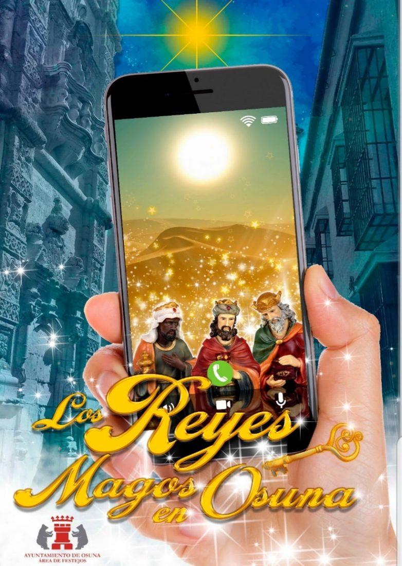 AionSur: Noticias de Sevilla, sus Comarcas y Andalucía CARTEL-VIDEOLLAMADA-REYES-PARA-WEB-min Una videollamada desde Oriente para los niños y niñas de Osuna Osuna
